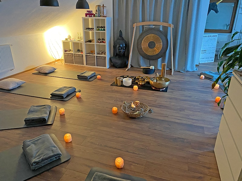 Klangschalen Klangmeditation Mömbris Aschaffenburg